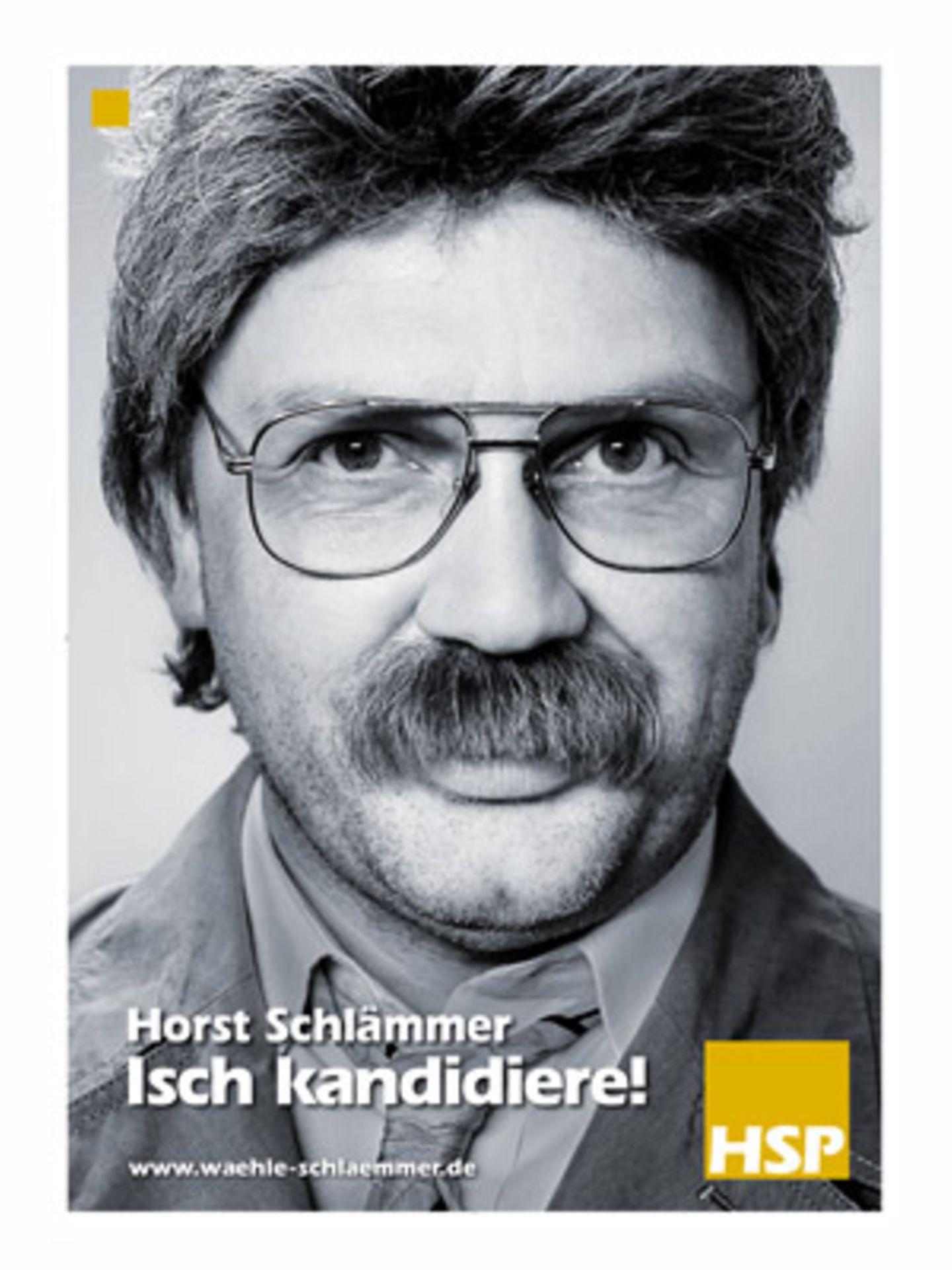Kino-Tipp: Horst Schlämmer - Isch kandidiere    Horst Schlämmer geht unter die Politiker.
