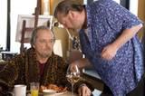 """TV-Tipp: """"Departed - Unter Feinden"""": Costello (Jack Nicholson, l.) weiß, dass er sich auf Mr. French (Ray Winstone) verlassen kann."""