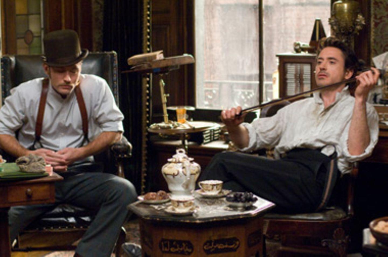 "Fotostrecke: Im Kino: ""Sherlock Holmes"""