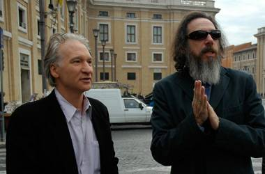 Bill Maher und Larry Charles