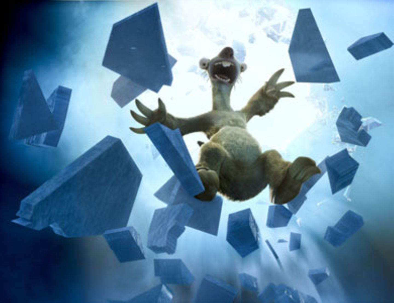 """Als Faultier """"Sid"""" durch das Eis bricht, entdeckt er drei scheinbar mutterlose Eier."""