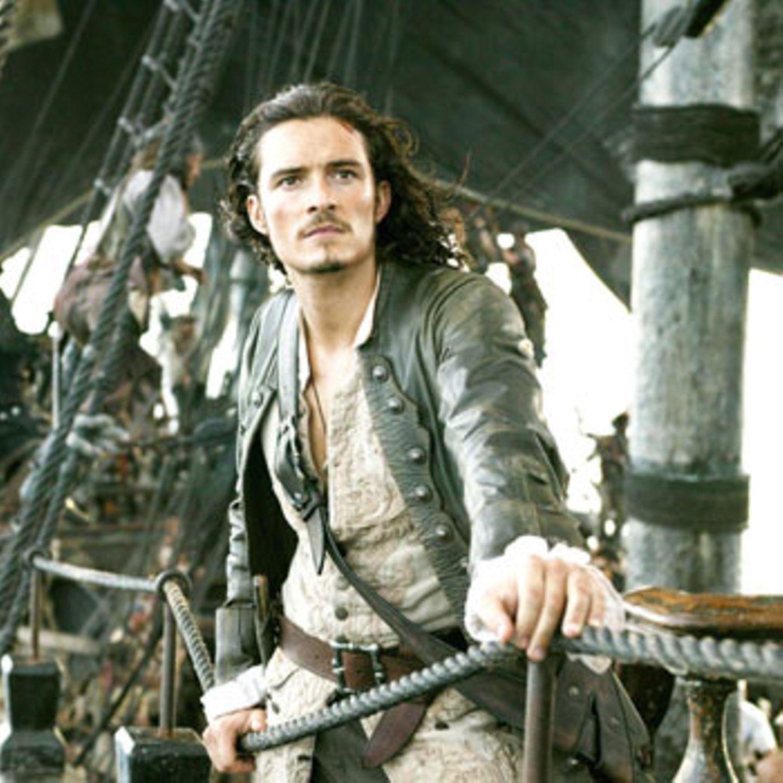 Auch Will ist auf der Suche nach Jack und dem Kompass. Wer wünscht sich nciht einen Mann, der so entschlossen guckt, wenn es darum geht, seine Liebste zu retten?
