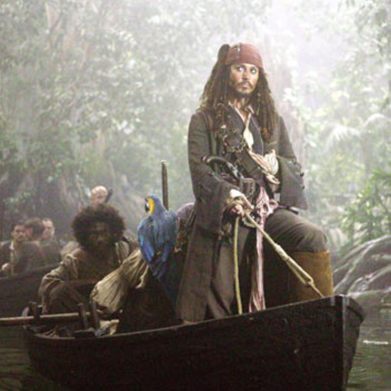 Kleines Boot, großer Pirat: Käpt'n Jack Sparrow (Johnny Depp)