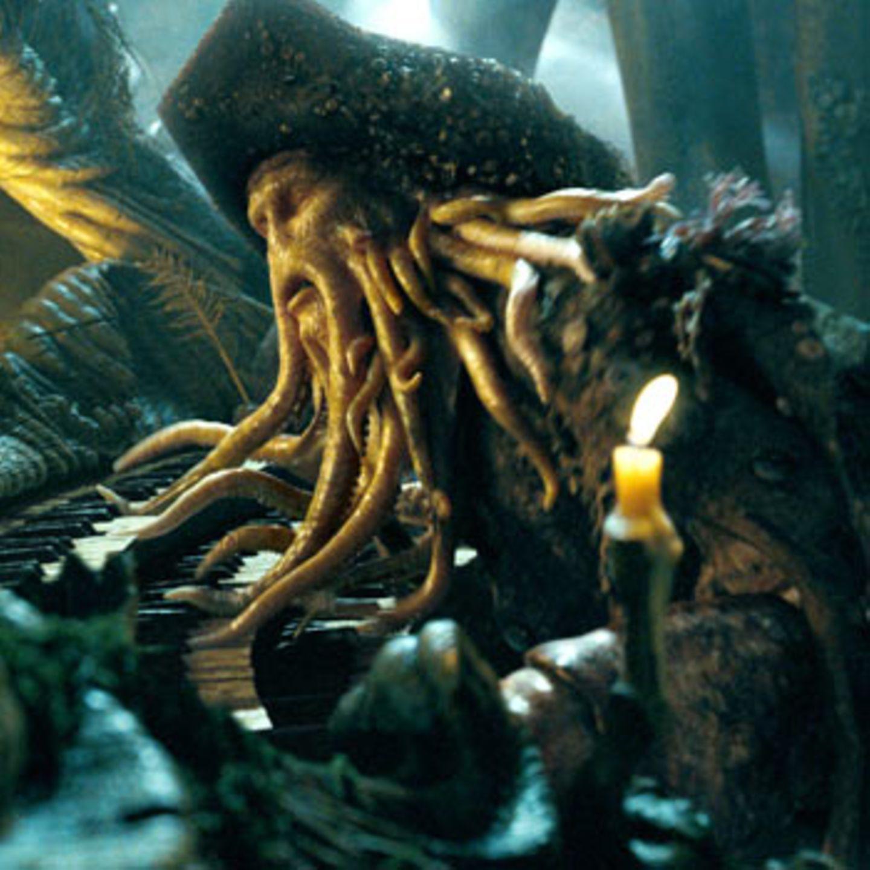 Rat tut not, wenn man von einem so glitschigen Gesellen wie Piratenlegende Davy Jones (Bill Nighy) gejagt wird