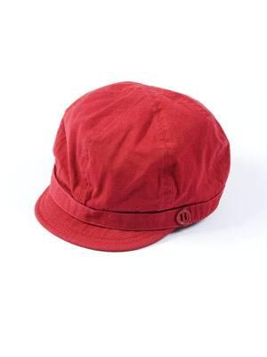 Roter Sommerhut von mister.lady, um 7 Euro.