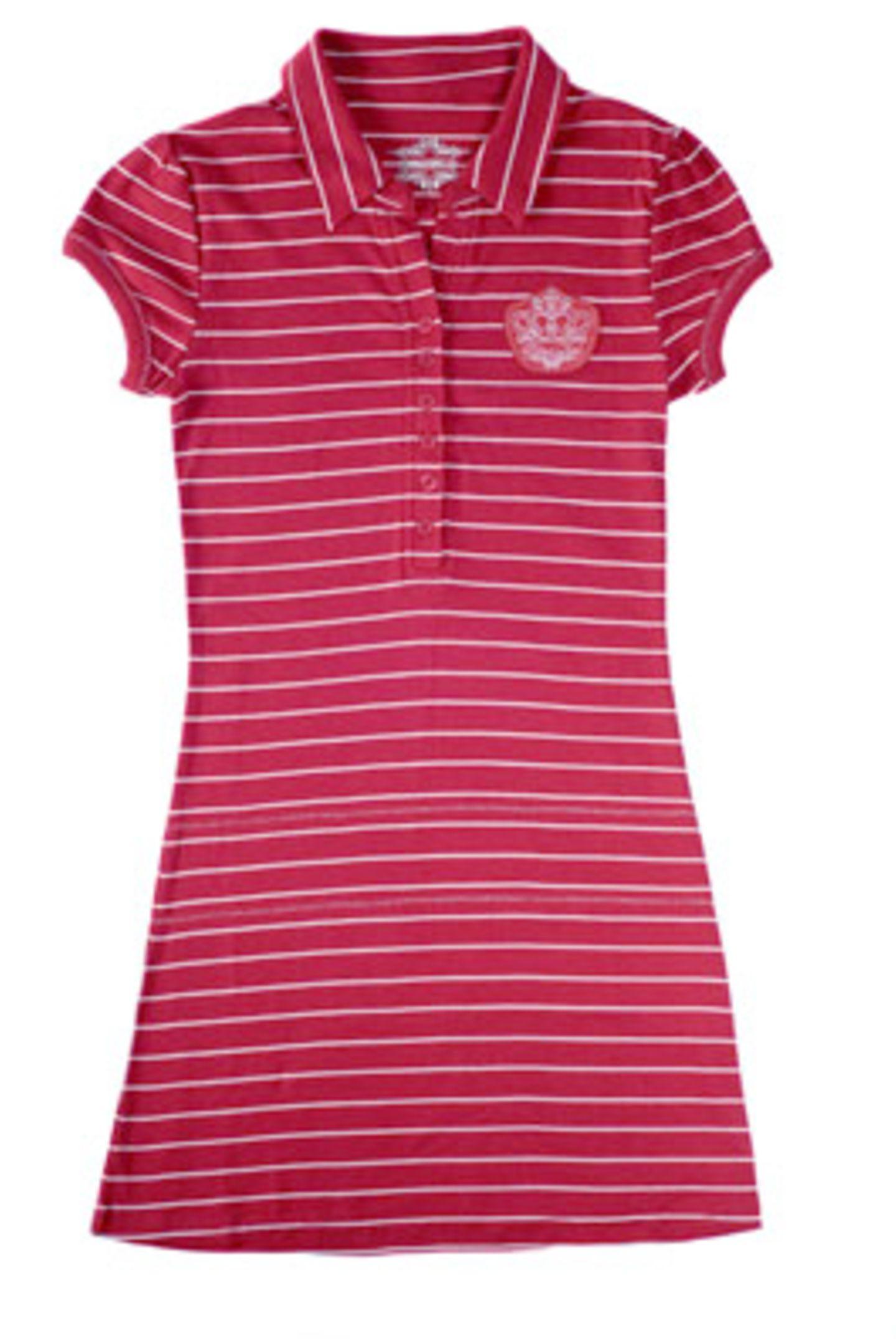Rot-weiß geringeltes Kleid; 19,95 Euro; von mister.lady