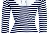 Blau-weiß gestreiftes Shirt; 14,99 €Euro; von K&L Ruppert
