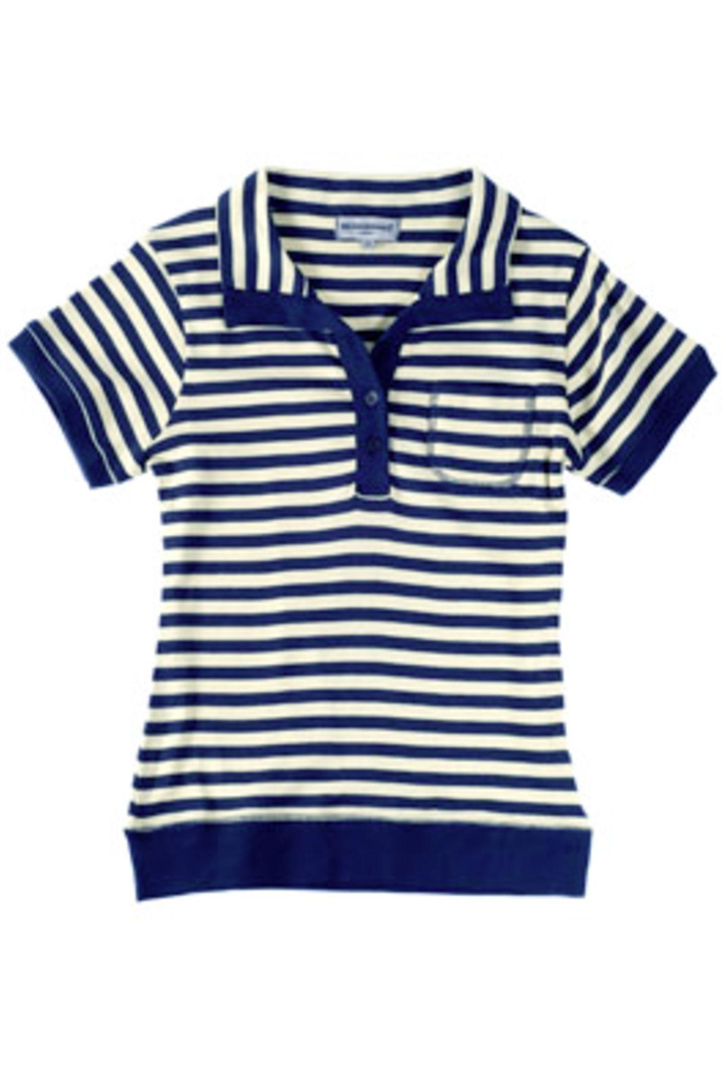 Gelb-blau gestreiftes Shirt; 9 Euro; von mister.lady