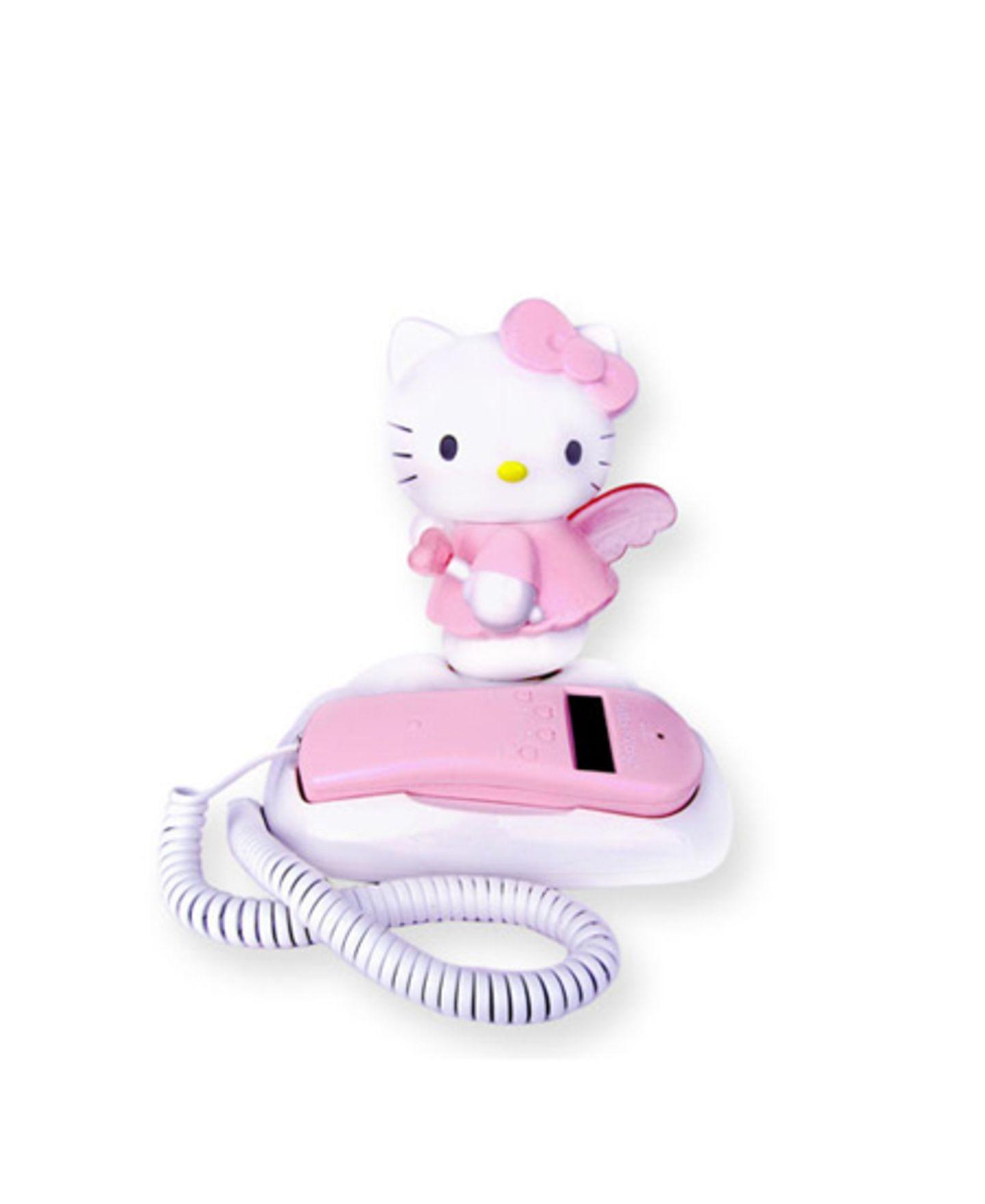 Stylisches Telefon (ja, damit kann man wirklich telefonieren!) von Sanrio-Express, um 45 Euro.