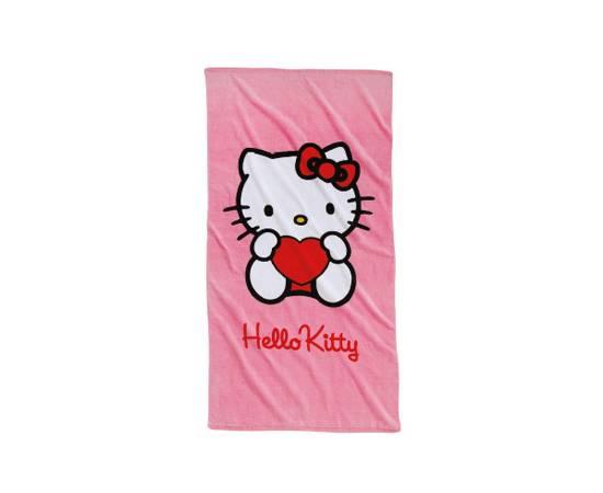 Badetuch mit Hello Kitty-Motiv von OTTO, um 18 Euro.
