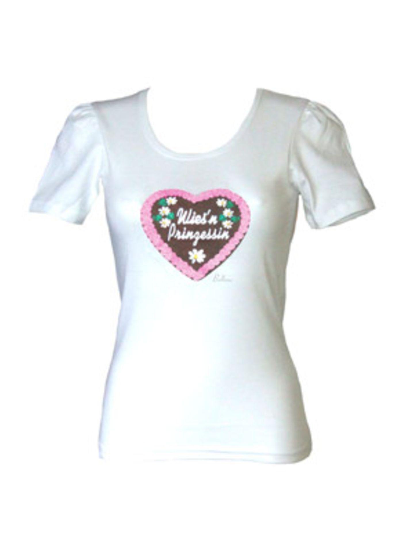 """Dieses Shirt von Balbina (um 40 Euro) macht dich auf jeden Fall zur """"Wies'nprinzessin"""". Über www.balbina-balbina.de."""