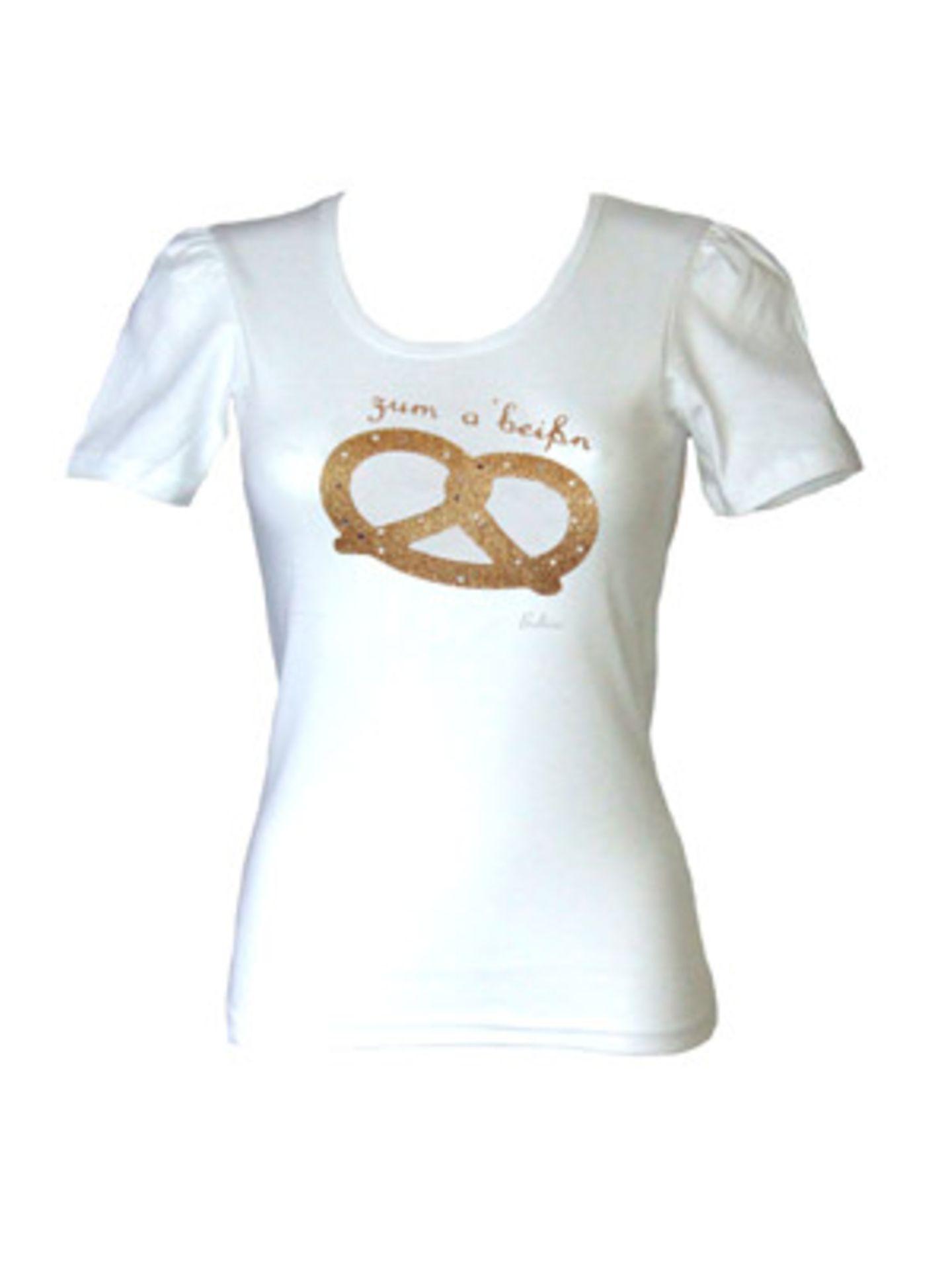 """""""Zum Anbeißen"""" sieht dieses T-Shirt von Balbina aus. Um 40 Euro. Über www.balbina-balbina.de."""
