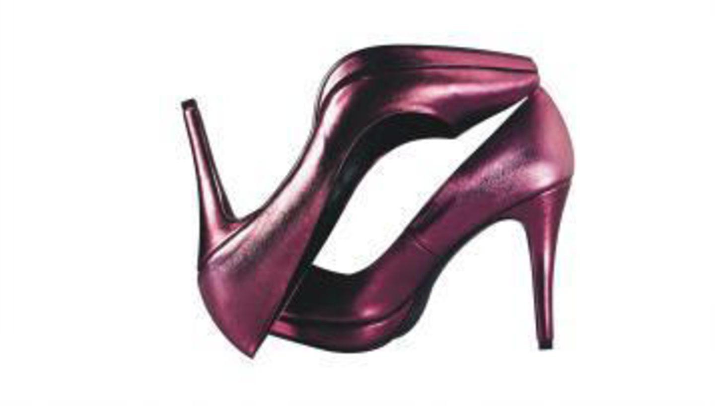 Pinke Pumps; 29,90 Euro; von H&M