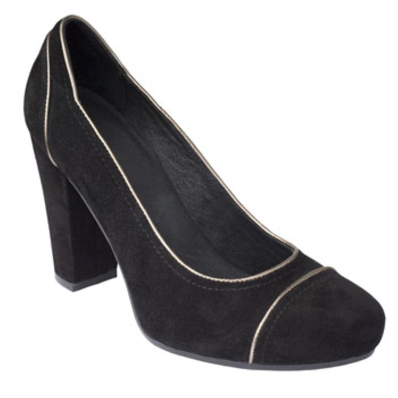 Plateau-Schuh aus Ziegenleder; 109 Euro; von Marc O'Polo