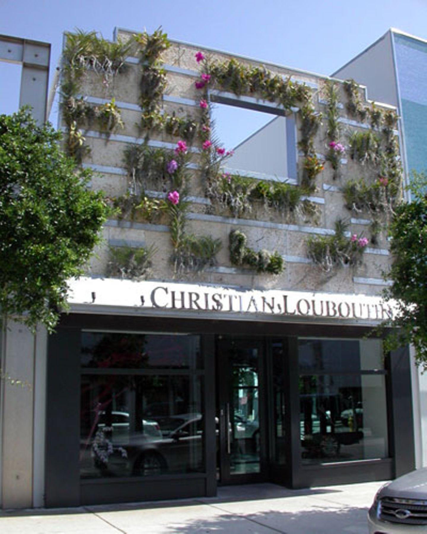 Im aufstrebenden Design District von Miami wirkt vieles improvisiert, aber interessant. Hier etwa eine bepflanzte Hausfassade.
