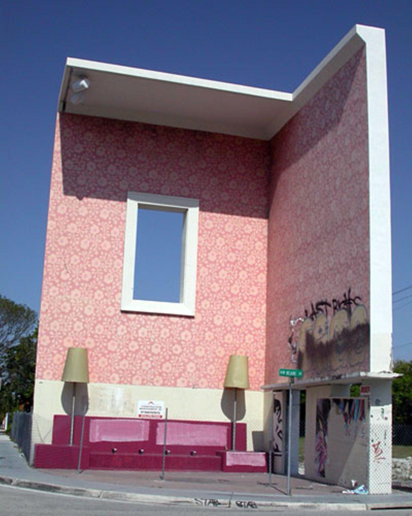 """Das Kunstwerk """"Living Room"""" im Design District böte ein kuscheliges Ambiente für Kaffee und Kuchen bei Riesen."""