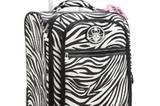 Trolley im Zebra-Look von Kathy van Zeeland, um 200 Euro. Über www.kathyvanzeeland.com.