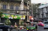 Straßenszene in Bangkok.