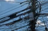 Die elektrischen Leitungen in Bangkok sind ähnlich verwirrend wie das Straßennetz der Hauptstadt.
