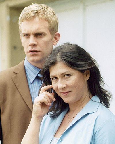 Eva Mattes und Sebastian Bezzel