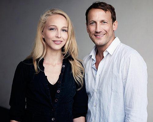 Wotan Wilke Möhring und Petra Schmidt-Schaller