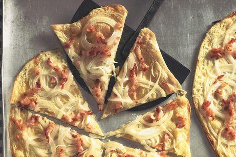 Rezepte aus dem Elsass: Flammkuchen