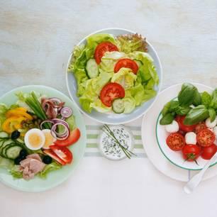 kalorien schlankmacher salat kommt ganz drauf an. Black Bedroom Furniture Sets. Home Design Ideas