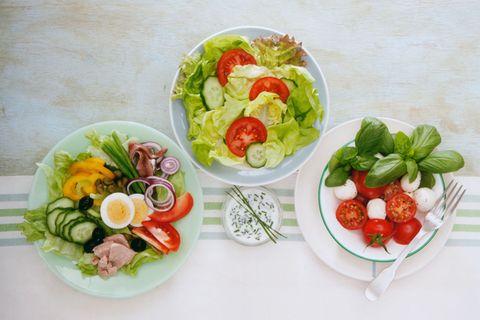 Schlankmacher Salat? Kommt ganz drauf an ...