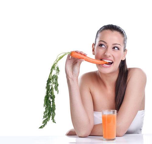 3. Karotten wirken wie Sonnencreme von innen - stimmt das?