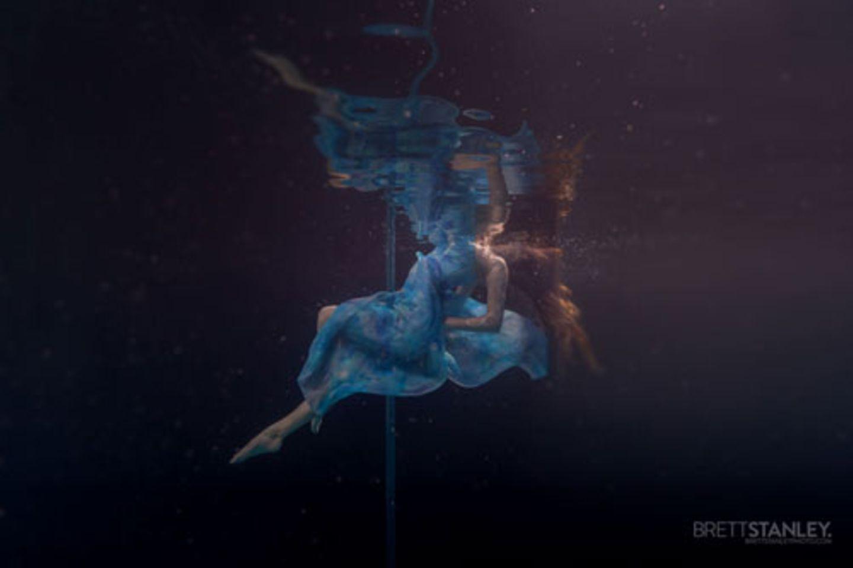 Der Fotograf Brett Stanley ist von der Aufmerksamkeit für sein Projekt überwältigt. Er ist offenbar nicht der Einzige mit einer Schwäche für Unter-Wasser-Aufnahmen.