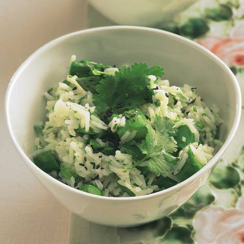 Spargel-Reis-Salat