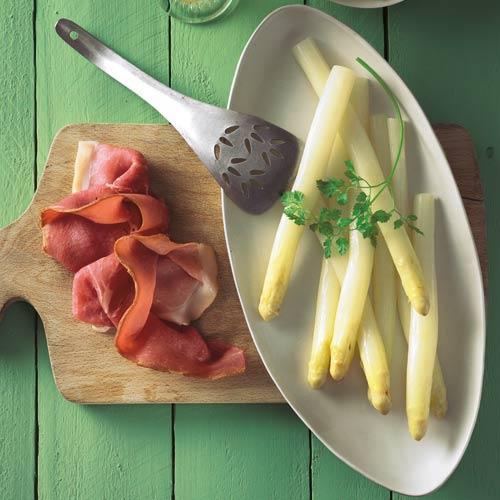 Braunschweiger Spargel mit brauner Butter und Kerbel