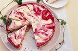 Eistorte mit Erdbeer und Mascarpone