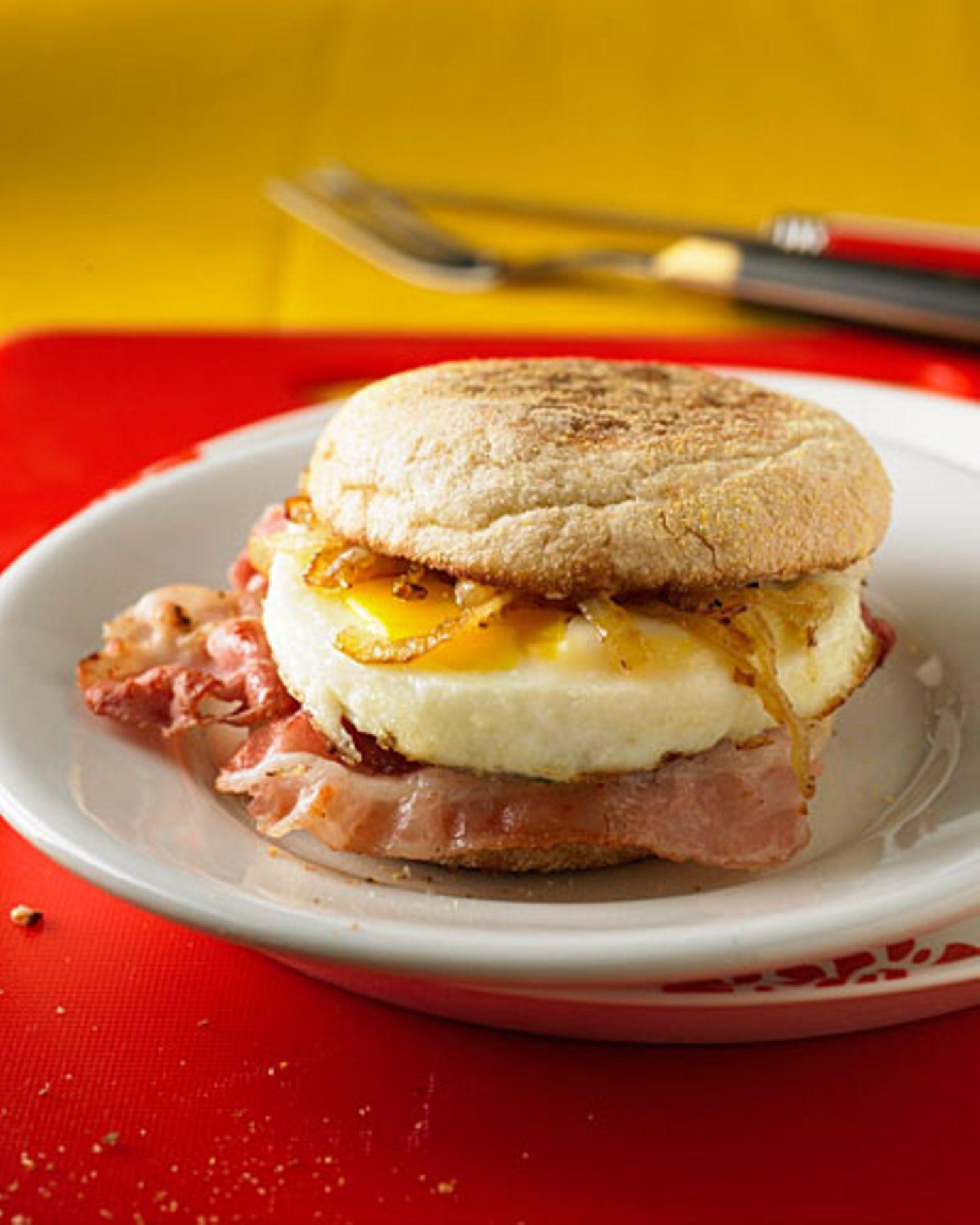 Frühstücks-Burger