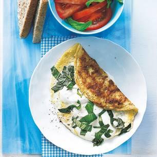 Low-Carb-Frühstück: Ei Caprese