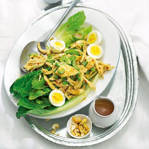 Geflügelsalat mit Zitronengras