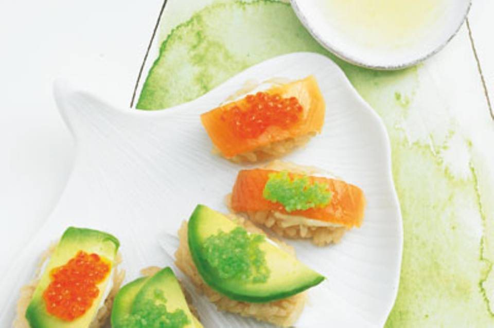 Sushi-Reisnocken