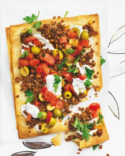Filo-Pizza