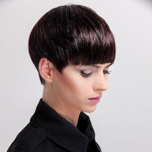 Der Haarschnitt: Five-Point-Cut