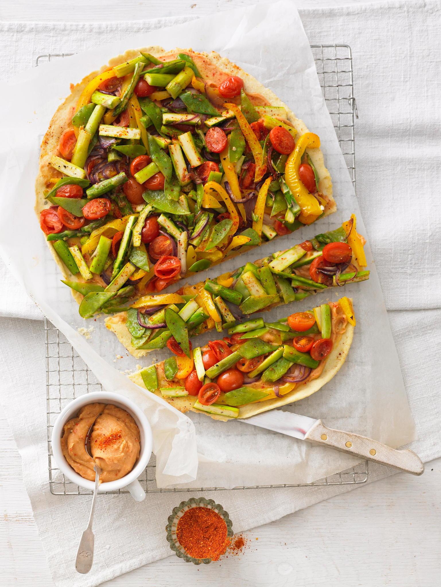 Tarte mit gegrilltem Gemüse