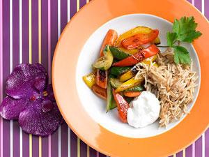 Vegetarisch kochen für Kinder: Bunte, gesunde Rezepte
