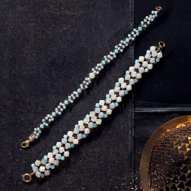 Perlenarmbänder selber machen