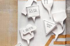 Käseplatten-Schildchen selber machen