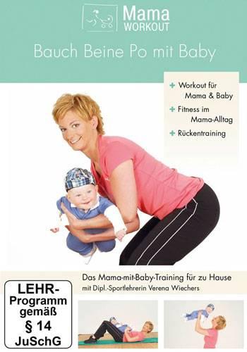 Mama-Workout - Bauch Beine Po mit Baby