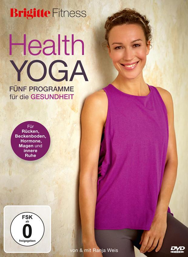 Die neue BRIGITTE-DVD: Health Yoga