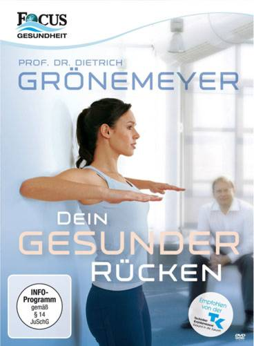 """""""Dein gesunder Rücken"""" von Professor Dr. Dietrich Grönemeyer"""