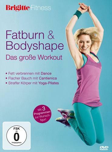 BRIGITTE-DVD: Fatburn und Bodyshape