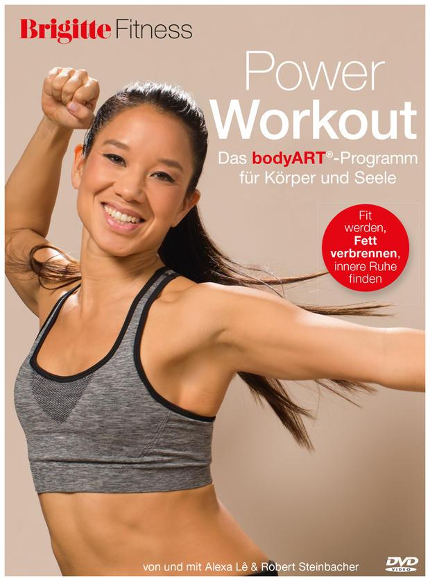 Die neue BRIGITTE Fitness-DVD: Power Workout