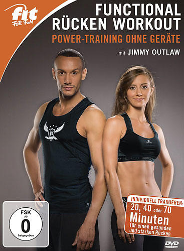 Functional Rücken Workout - Power-Training ohne Geräte