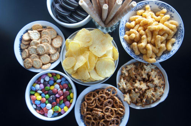 Was steckt in welchem Party-Snack?